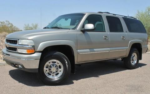 2001 Chevrolet Suburban na prodej