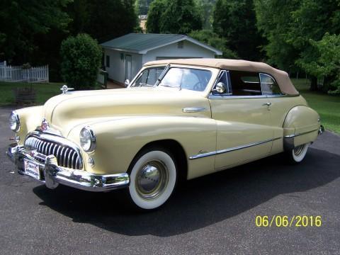 1948 Buick Super Convertible na prodej
