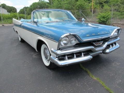 1957 Dodge Custom Royal Convertible na prodej