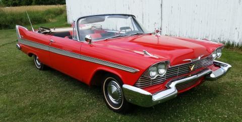 1958 Plymouth Belvedere Convertible na prodej
