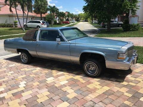 1983 Cadillac Fleetwood na prodej