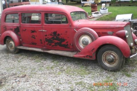 1936 Packard Hearse na prodej
