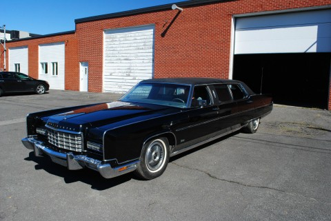 1973 Lincoln Continental Limousine na prodej