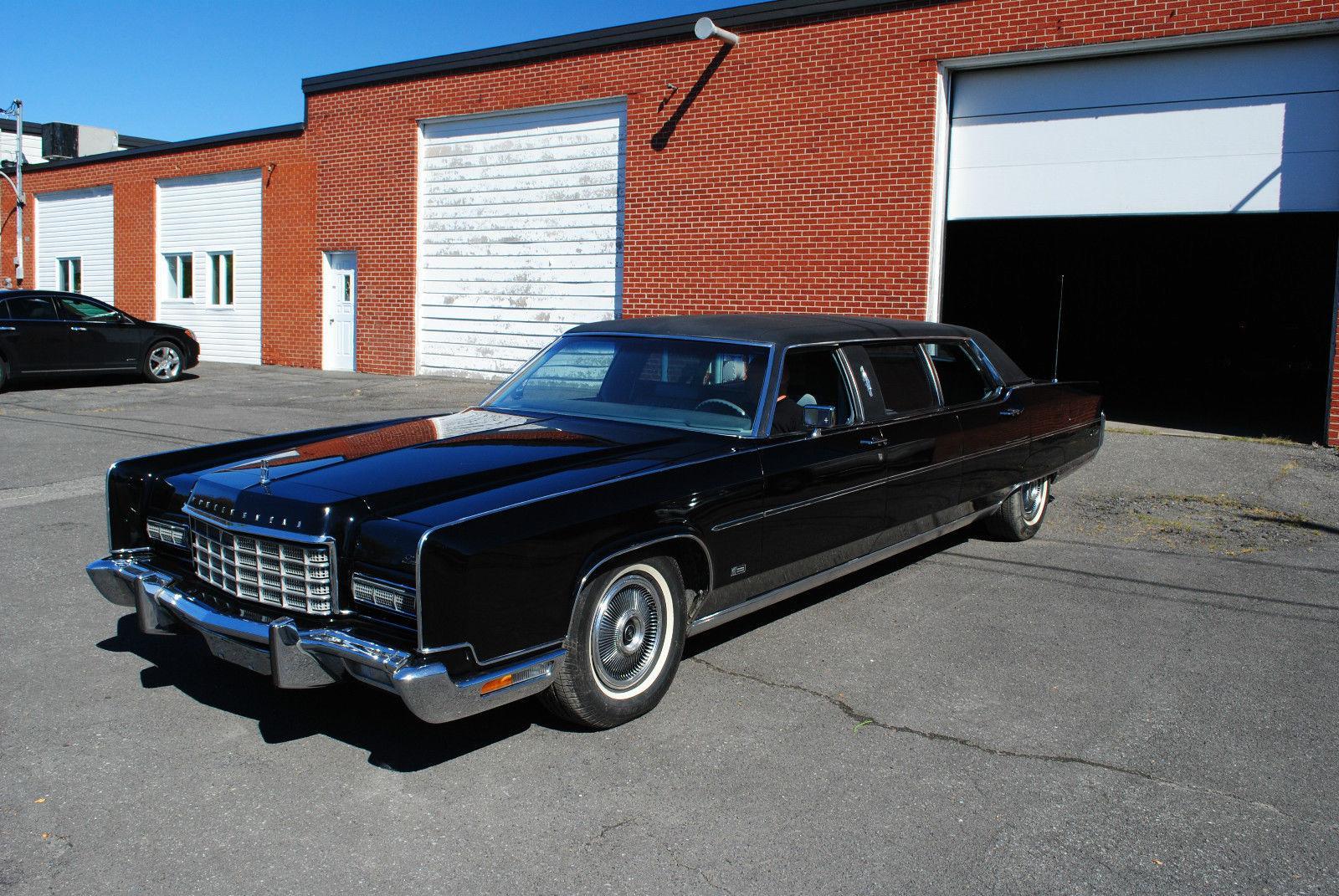 1973 Lincoln Continental Limousine na prodej