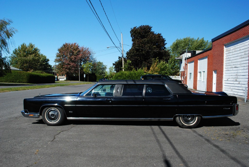 1973 Lincoln Continental Limousine