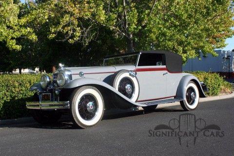 1931 Stutz DV-32 Convertible na prodej