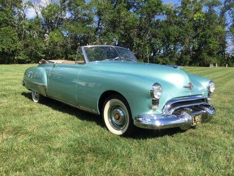 1949 Oldsmobile 98 Convertible na prodej