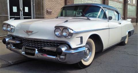 1958 Cadillac Eldorado Seville na prodej