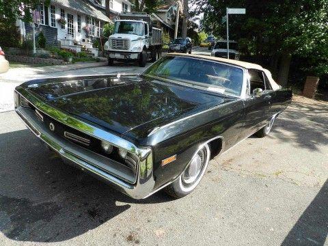 1970 Chrysler 300 Convertible na prodej