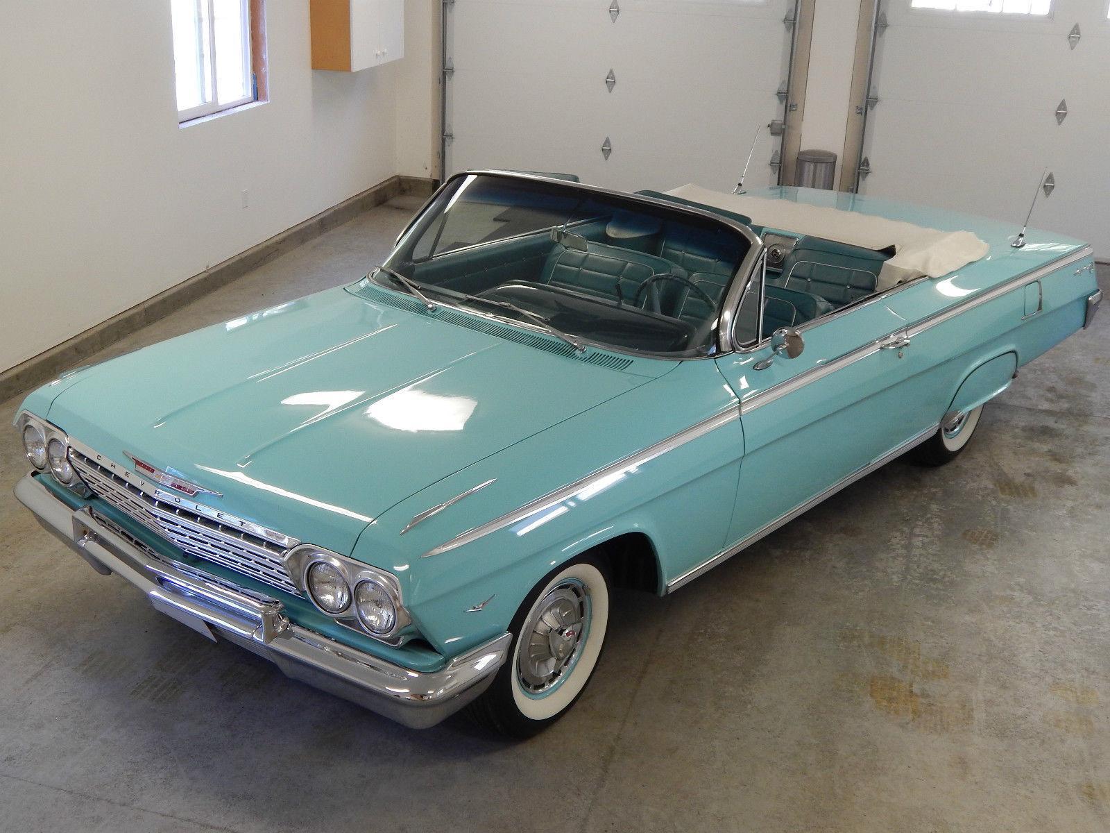 1962 chevrolet impala convertible na prodej. Black Bedroom Furniture Sets. Home Design Ideas