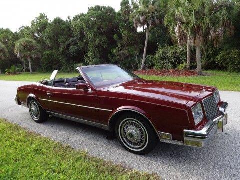 1983 Buick Riviera Convertible na prodej