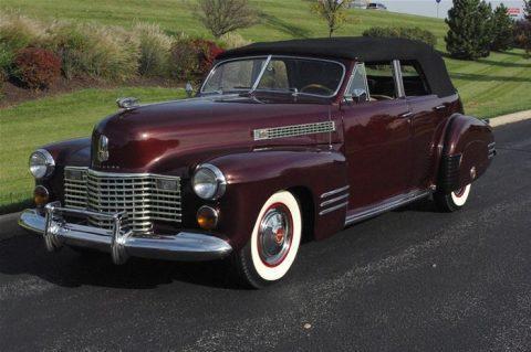 1941 Cadillac Series 62 Convertible na prodej