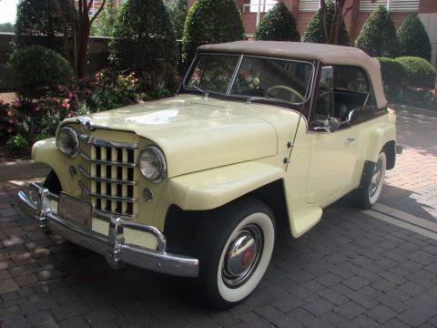 1950 Willys Jeepster na prodej