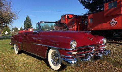 1953 Chrysler New Yorker Deluxe Convertible na prodej