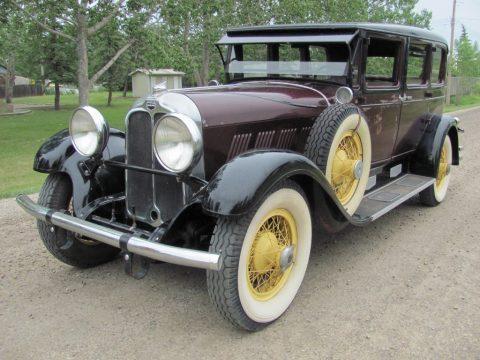 1930 Auburn 125 Sedan na prodej