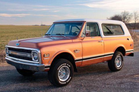 1970 Chevrolet Blazer na prodej