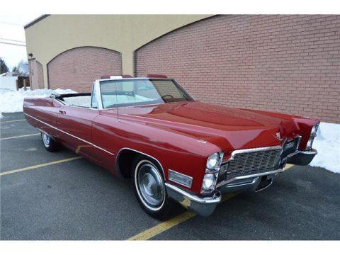 1968 Cadillac DeVille Convertible na prodej