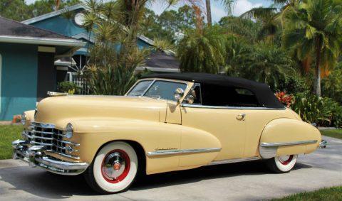 1947 Cadillac Series 62 Convertible na prodej