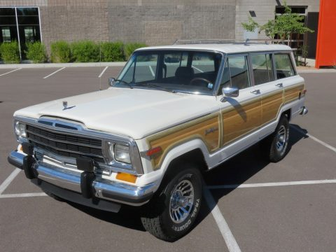 1987 Jeep Wagoneer na prodej
