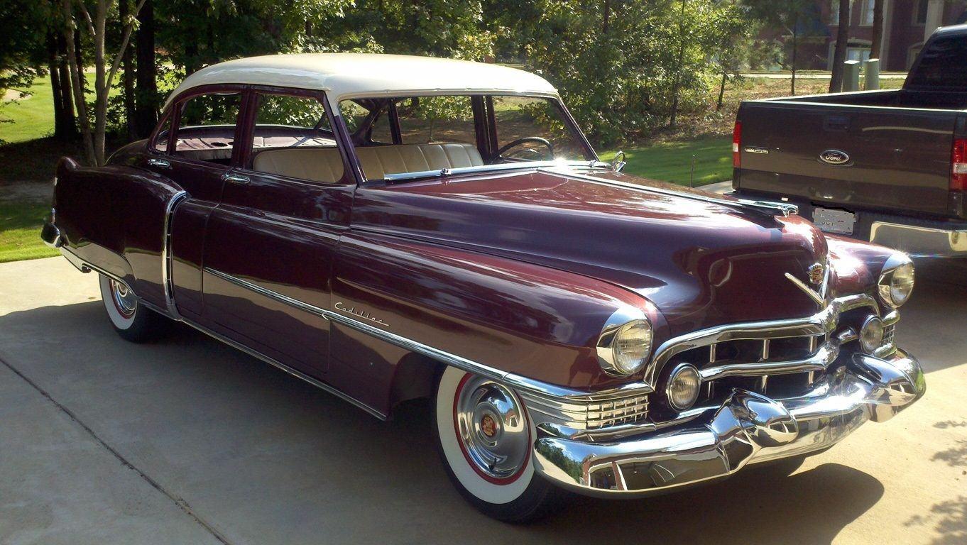 1951 Cadillac Series 62 Na Prodej Sedan Deville