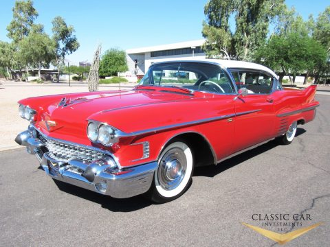 1958 Cadillac DeVille na prodej