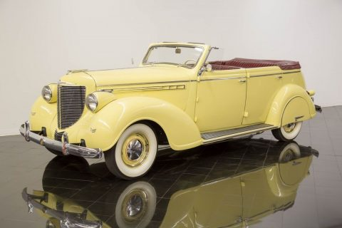 1938 Chrysler Imperial Eight Convertible Sedan na prodej