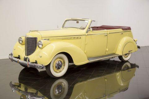 1938 Chrysler Imperial Eight Convertible Sedan na prodej