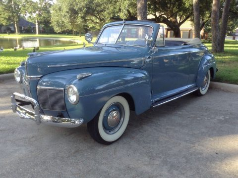 1941 Mercury Convertible na prodej