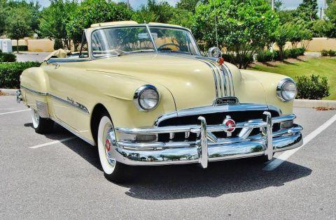 1951 Pontiac Chieftain Convertible na prodej