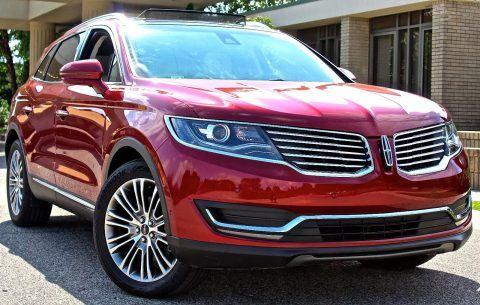 2016 Lincoln MKX na prodej