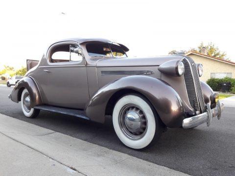 1936 Pontiac 3 Widnow Coupe na prodej