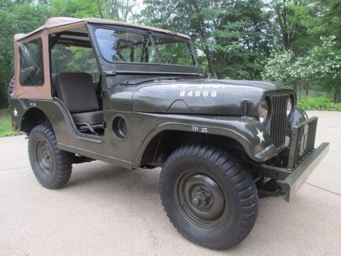1955 Jeep M38A1 na prodej