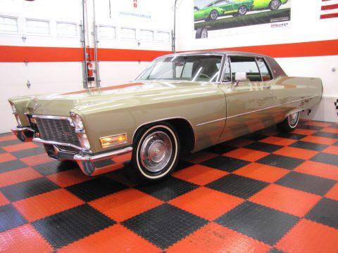 1968 Cadillac Coupe DeVille na prodej