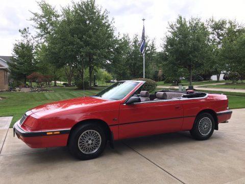 1992 Chrysler LeBaron Convertible na prodej
