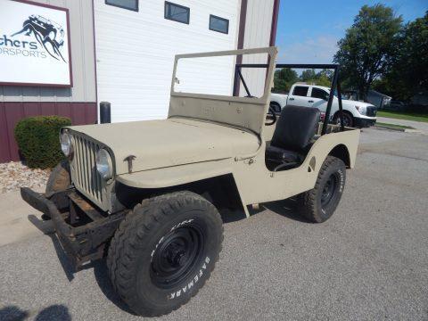 1947 Willys CJ2A na prodej