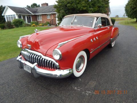 1949 Buick Super Convertible na prodej