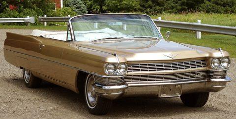 1964 Cadillac DeVille Convertible na prodej