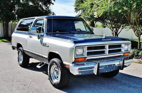 1988 Dodge Ramcharger na prodej