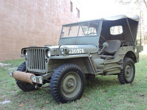 1942 Jeep Willys na prodej