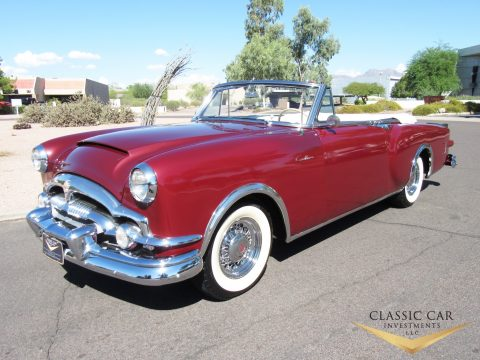 1953 Packard Caribbean Convertible na prodej