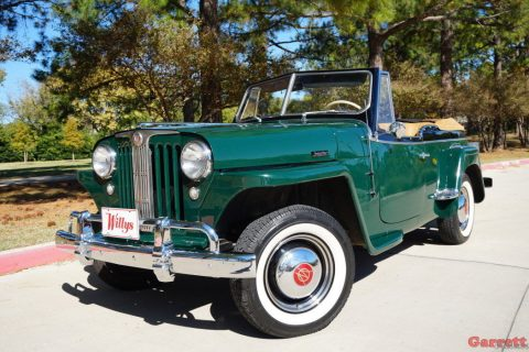1949 Willys Jeepster Convertible na prodej