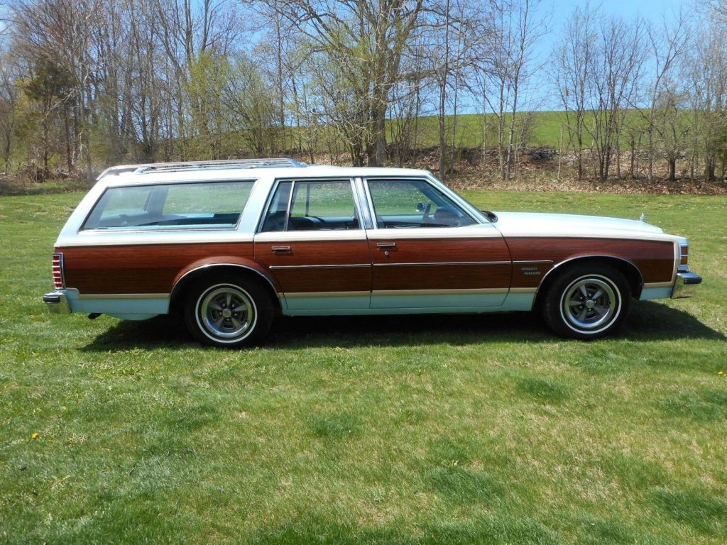 1978 Pontiac Safari Wagon
