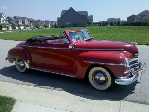 1947 Plymouth Special Deluxe Convertible na prodej