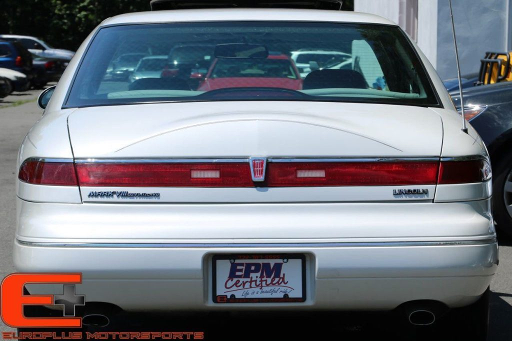 1996 Lincoln Continental Mark VIII