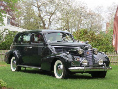 1939 Cadillac Fleetwood na prodej