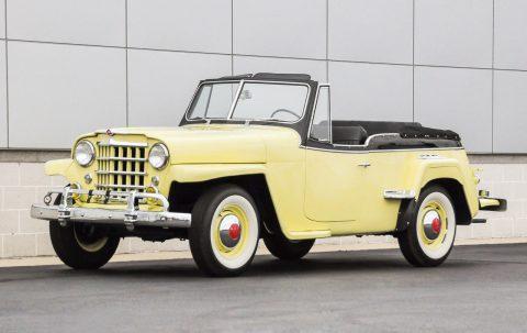 1950 Willys Overland Jeepster na prodej
