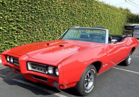 1969 Pontiac GTO Convertible na prodej