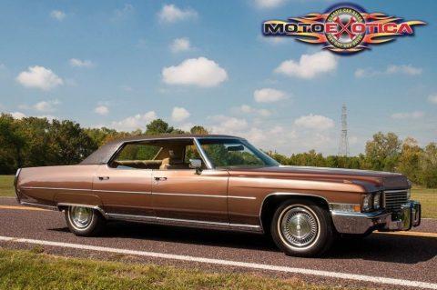 1972 Cadillac Sedan DeVille na prodej