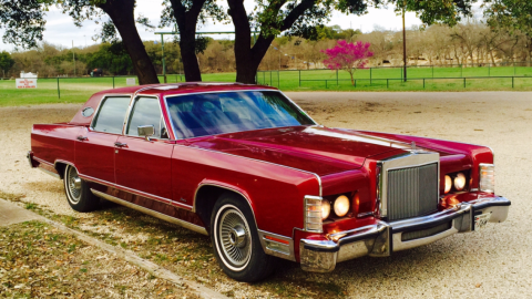 1979 Lincoln Continental Town Car na prodej
