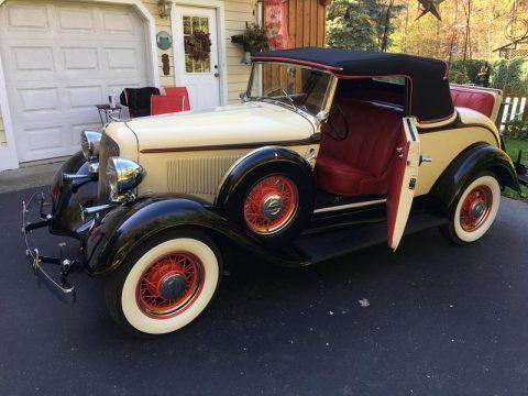 1933 Plymouth PD na prodej